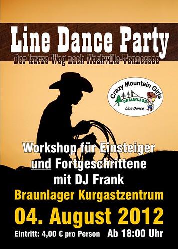 Auf zur Line Dance Party in Braunlage