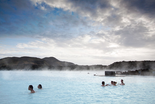 'Steamy Bath', Iceland, Reykjavik, The Blue Lagoon