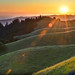 Bolinas Ridge Sunset by David Shield Photography