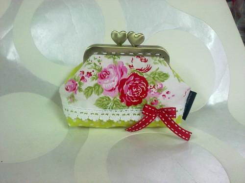 Porta-moedas com ferragem de 8cm by ♥Linhas Arrojadas Atelier de costura♥Sonyaxana