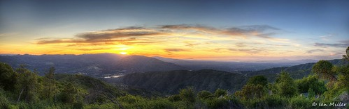 sanfrancisco california sunset panorama mountains sanjose bayarea losgatos hdr d90 simplysuperb