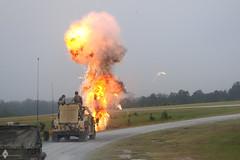 gas flare(0.0), missile(0.0), asphalt(1.0), vehicle(1.0), fire(1.0), explosion(1.0),