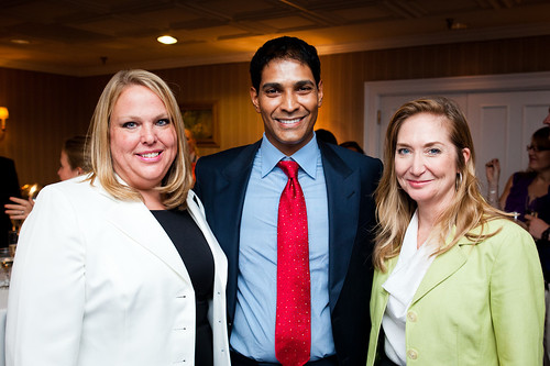 Your DC Hotels team Heidi Bitar, Nayan Patel and Kelly Curry