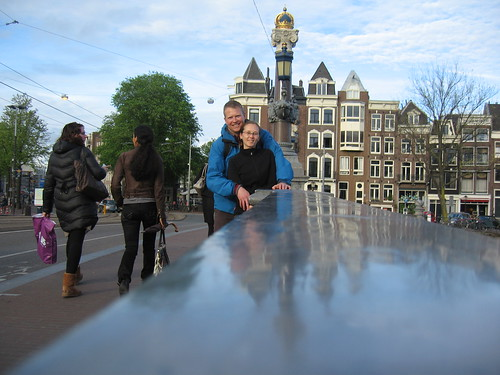 Us in Amsterdam