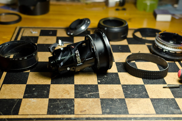 Как починить объектив Nikon 18-70mm F/3.5-4.5 своими руками
