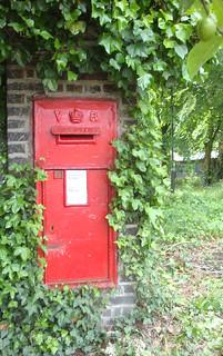 Hidden postbox