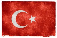 Turkey Grunge Flag