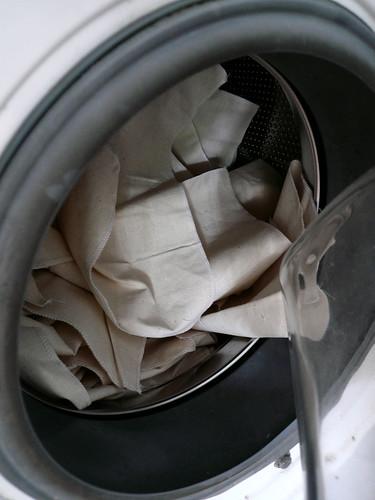 pre-washing