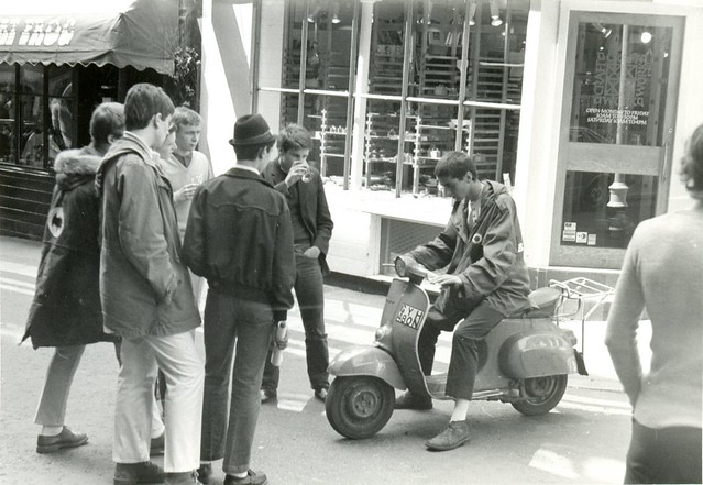 Mods in London 1979