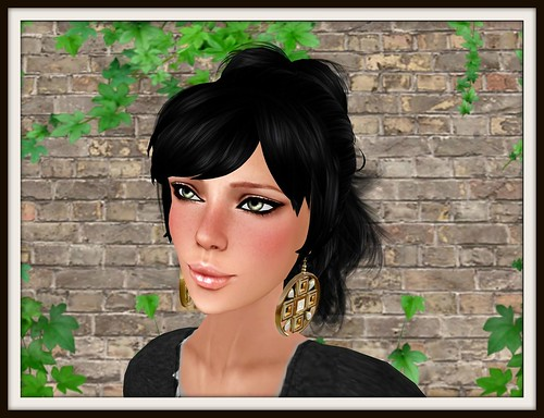 ELUZION Madelyn EARRINGS = 5 lindens by Cherokeeh Asteria