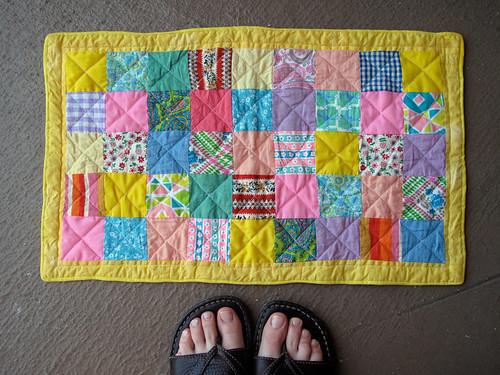 Handmade Doll Quilt