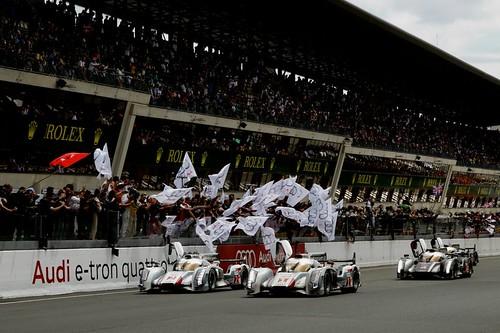 ルマン決勝9『Photo:Audi Sport』