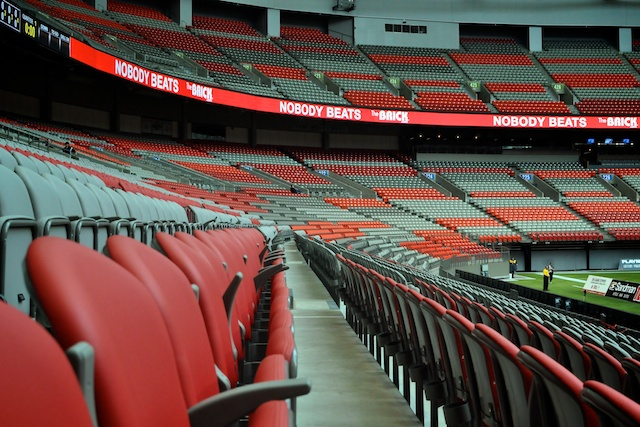 BC Place Pre-Game Tour