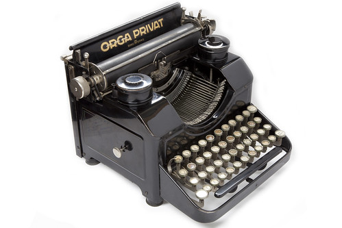 Orga Privat typewriter