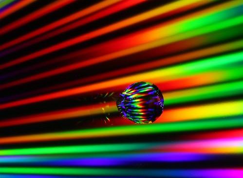 Lazer War - Super beams reflected from a CD