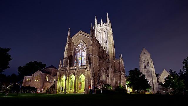 Bryn Athyn Cathedral HDR