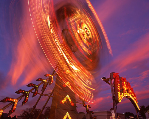 county carnival pink light sunset red motion blur color 120 film june clouds lights bay san long exposure ride fair velvia dont spinning area zipper 16 6x7 mateo provia puke 2012 cirrus rz67 e100 rz68