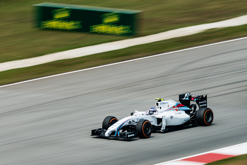 Practice Two - Valtteri Bottas - Car 77 - FW36 - Hard Tyres - Williams Martini Racing