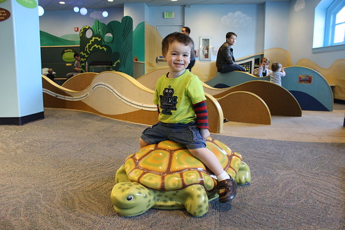 Port Discovery - Toddler Trails - Sagan Rides Turtle