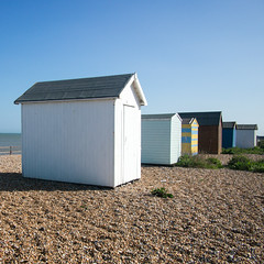 Beach huts, Kingsdown