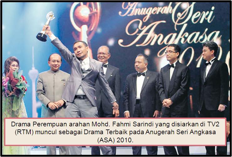 Imbas Kembali Drama Tv Terbaik 2010 Menerusi Anugerah Seri Angkasa 2010