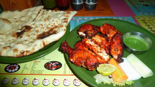 Nepal - Kathmandu - Restaurant - Chicken Dinner
