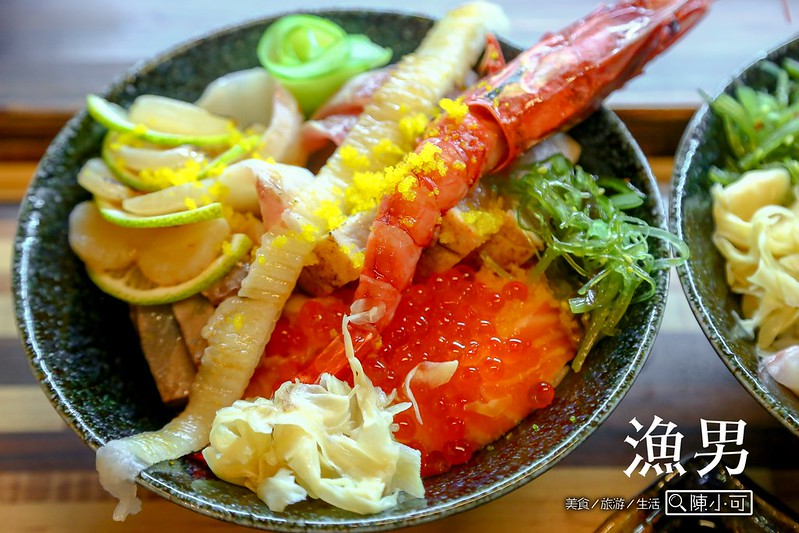 漁男和食漁夫料理【新北市三重日本料理】猛男海鮮丼好特別,新開幕的漁男和食漁夫料理