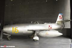 16 SP-GLK - 925 - Polish Air Force - Yakovlev Yak-23 - Polish Aviation Musuem - Krakow, Poland - 160423 - Steven Gray - IMG_1448