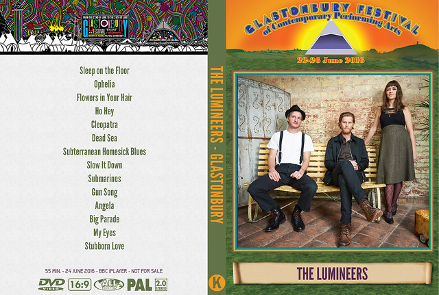 The Lumineers - Glastonbury 2016