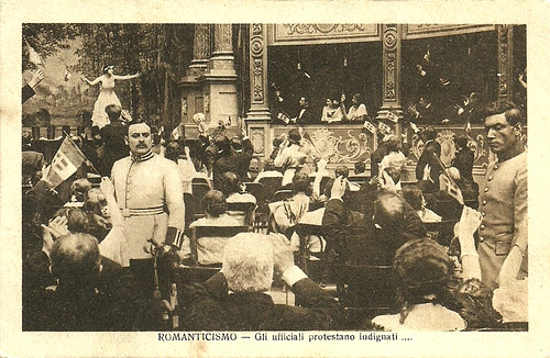 Romanticismo (1915) upheaval in the opera