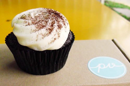 chocolate stout cupcake @ plain vanilla bakery