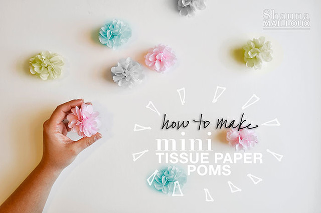 How to make mini tissue paper poms beautiful matters howtomakeminitissuepoms opt mightylinksfo