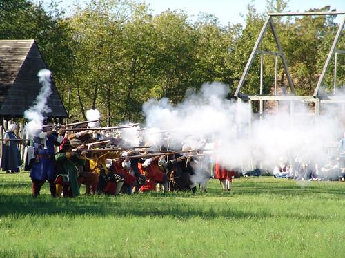 Militia Reenactment, Historic St. Mary's City
