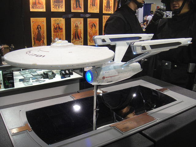 WonderCon 2012 - efx Star Trek starship Enterprise from Flickr via Wylio