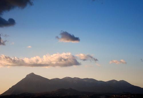Monte taburno, la dormiente del Sannio