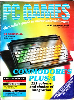 Australian PCGames magazine cover, December 1984