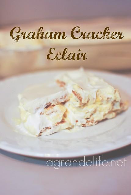 graham cracker eclair recipe