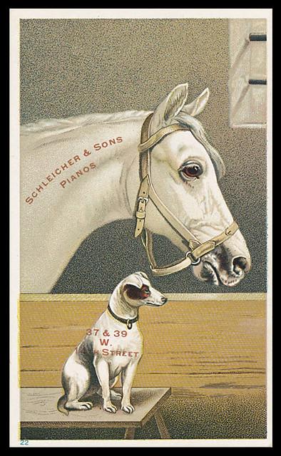 HorseDogPianoAdvertising