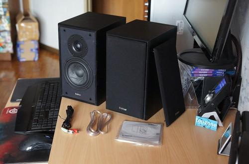 Edifier R1900TII 2.0 audio sistema   biudžetinis HiFi
