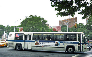 New York City Bus Safety Bus WiFi