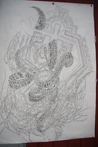 dessin dos