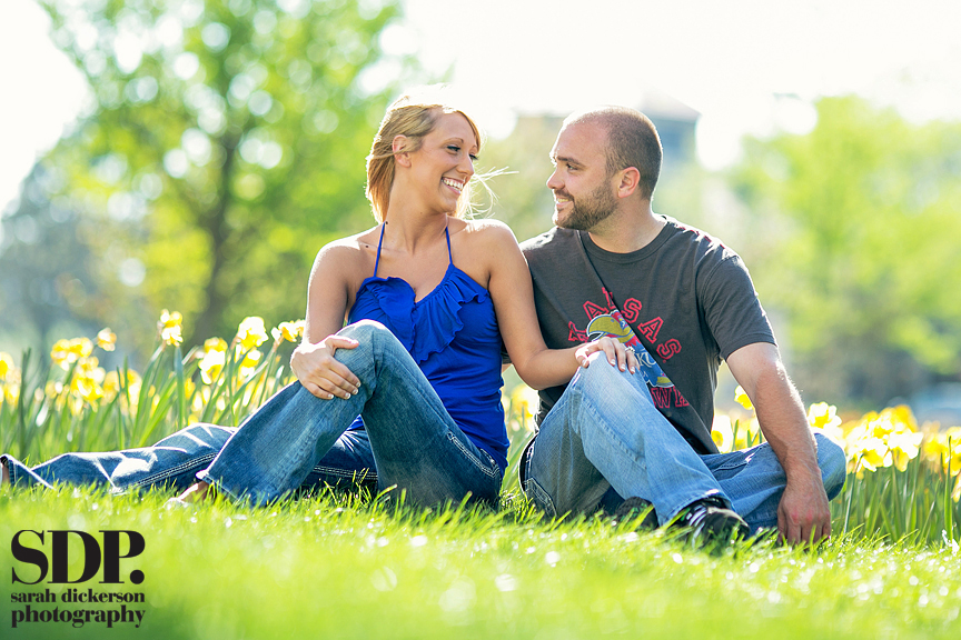 Lawrence Kansas engagement photographer