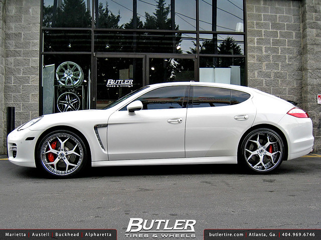 Celebrity Akon Porsche Panamera with Custom 22in Asanti ASF164 Wheels