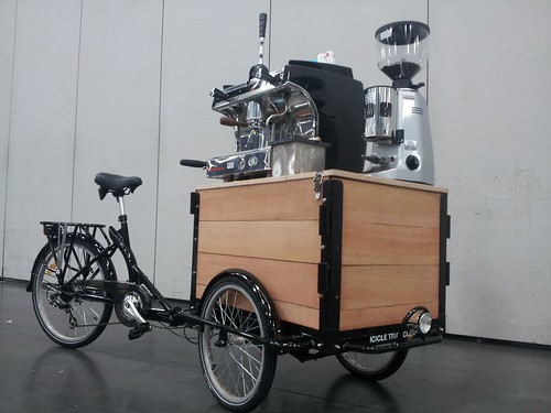 Portland S Coffee Bike Arms Race And Other Cargo Bike News