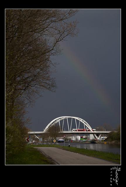 Passing the rainbow