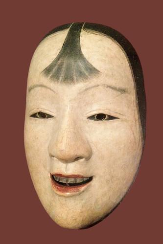 Masque de théâtre Nô (musée Guimet) by dalbera