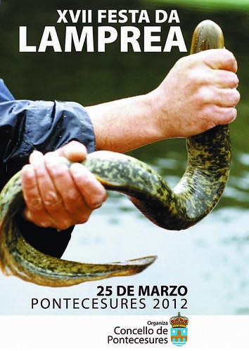 Pontecesures 2012 - Festa da Lamprea - cartel