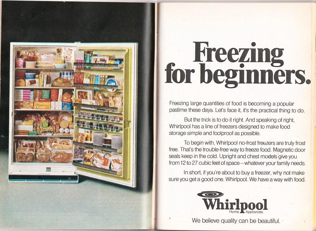 Whirlpool freezers