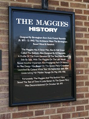 Photo of Edwin Francis Reynolds and The Maggies black plaque