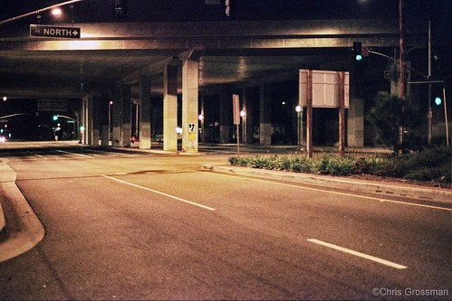 405 Culver Blvd. Underpass - Nikon F4 - Nikkor 50mm f/1.4 AI - Superia 1600